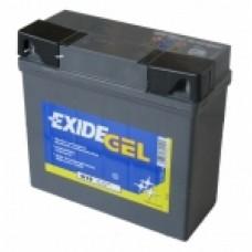 Exide motoraccu Gel 12 volt 19 ampere G19